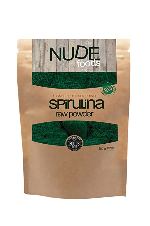 NUDE Foods Espirulina Ecológica Premium | Bio Certificada |Saciante ...