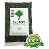 Dill Weed Tops - 100g Dried Herb / Herbal Tea
