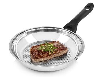 Beste Bratpfanne beka fleischpfanne 24 cm aus edelstahl für induktion