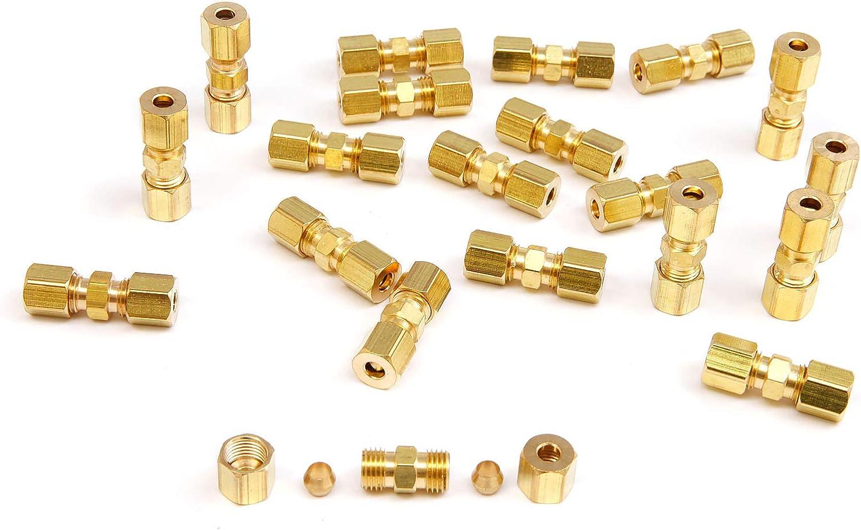 4pcs Hamimelon Connecteur Voiture Frein Tuyau 4.75mm pour Tube Tuyau Menuisier 4//10//20 pcs