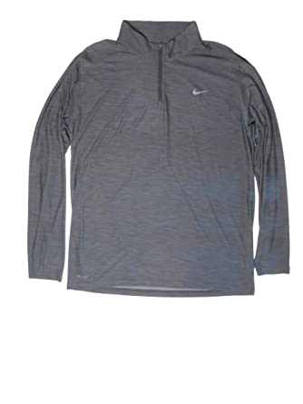 64e37fda Amazon.com: NIKE Mens Breathe Dry Quarter Zip Long Sleeve Shirt (X-Large):  Clothing