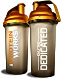 THE PROTEIN WORKS, Limited Edition Gold Protein Shaker - 700 ml