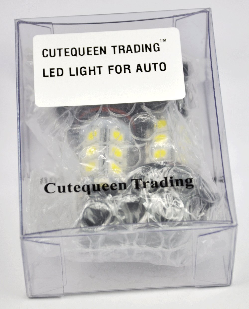 Cutequeen Trading 2pcs White 5050 48smd 48 Smd Led Panel About 12v 36 Circuit Board Rv Boat Light Bulb Ba9s New Dome Lamp T10 Festoon Adapter Pack Of 2 Automotive