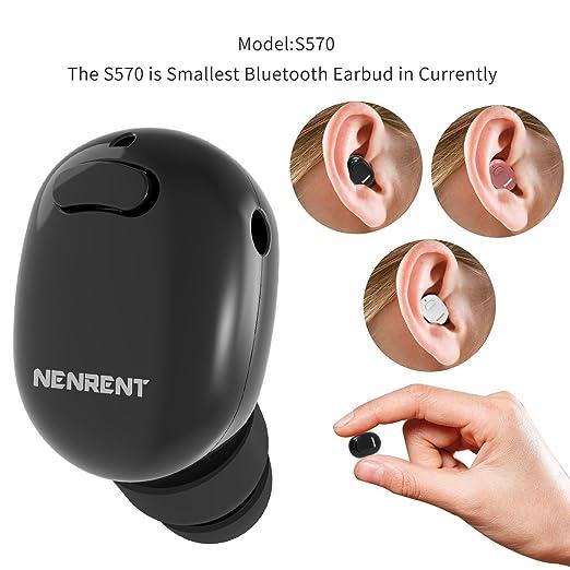 30 opinioni per Kingbull Mini Auricolare Bluetooth,Invisibile V4.1 Wireless Bluetooth Orecchio