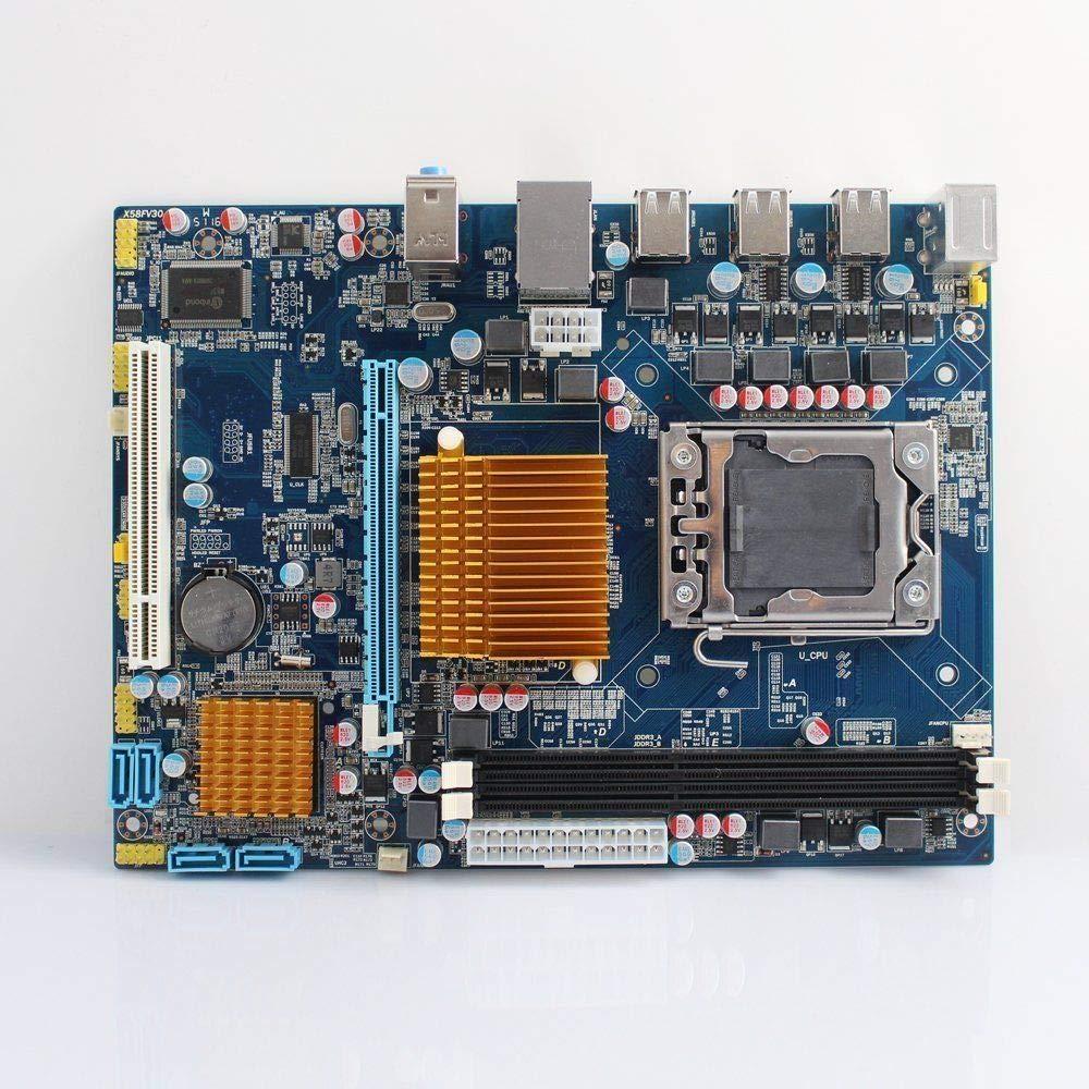 Amazon com: lntel X58 LGA 1366 mATX Motherboard (Up to 16GB