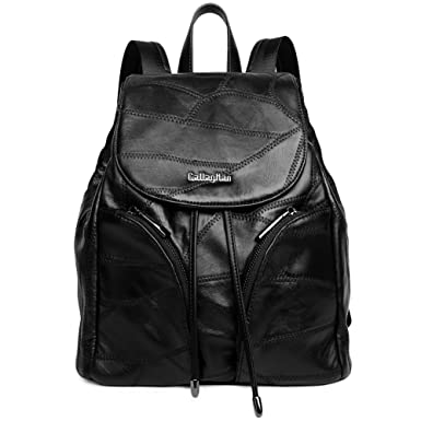 4703c64ed8 CALLAGHAN Women Leather Backpacks Casual Daypack Large Capacity School  Bagsfor Ladies Girls on Clearance  Amazon.co.uk  Clothing