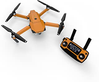 product image for Solid State Orange Decal for Drone DJI Mavic Pro Kit - Includes Drone Skin, Controller Skin and 3 Battery Skins