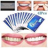 Teeth Whitening Strip, Dental Care Kits, Elastic Advanced Tooth Whitening Gel Bleaching System Cleaning Teeth 14 x 3 pcs