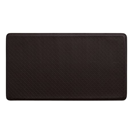 Gelpro Classic Anti Fatigue Kitchen Comfort Chef Floor Mat 20x36 Basketweave Truffle Stain Resistant Surface With 1 2 Gel Core For Health And