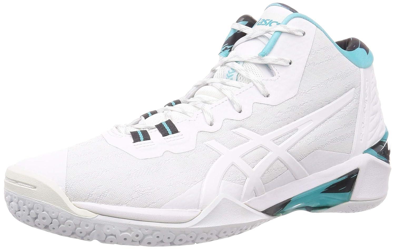 seleccione original online para la venta promoción especial Buy ASICS Unisex Adult White Basketball Shoes-13 UK (49 EU) (14 US)  (1061A018) at Amazon.in