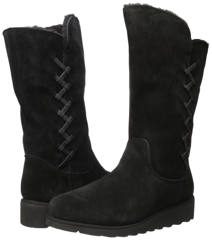 BEARPAW Women's Camila Fashion Boot B06XYKRVGL 5 B(M) US|Black