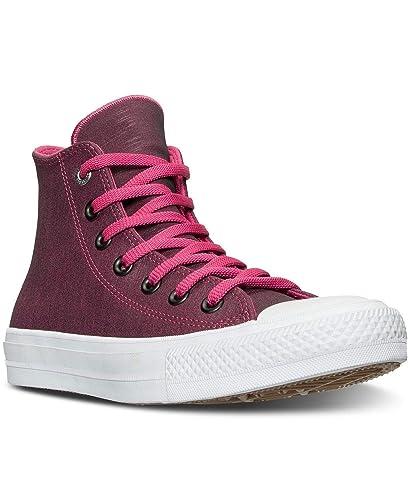 2bf571c3cc8 Converse Femmes Chaussures De Sport A La Mode Couleur Rose Vivid Pink Black Whit   Amazon.fr  Chaussures et Sacs