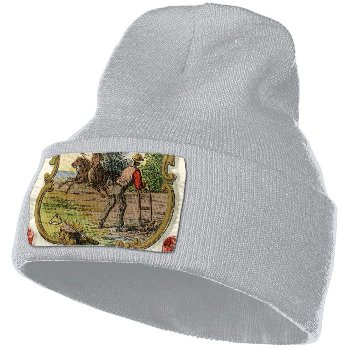 QZqDQ Minnesota State Coat of Arms Unisex Fashion Knitted Hat Luxury Hip-Hop Cap