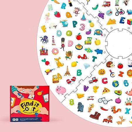 ZJJ Child Treasure Hunt Game, Kids Educational Tabletop Toys Juego de Mesa para niños y niñas 3 4 5 6 7 años Perfecto Regalo de cumpleaños de Vacaciones,B: Amazon.es: Hogar