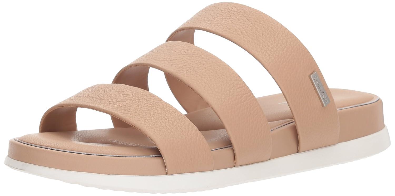 Calvin Klein Women's Dalana Slide Sandal B077J3CH16 9.5 B(M) US|Desert Sand
