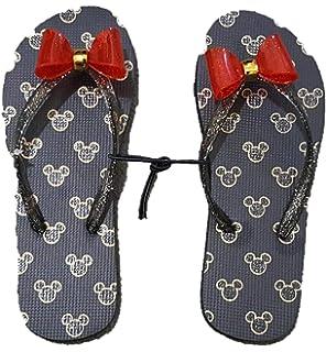 SIZE UK 3 Ladies Disney Mickey Minnie Mouse Primark Pumps Flat Shoes Black Girls