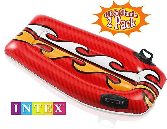 Amazon.com: Intex Joy Rider Surf n Slide Pool Floats (44