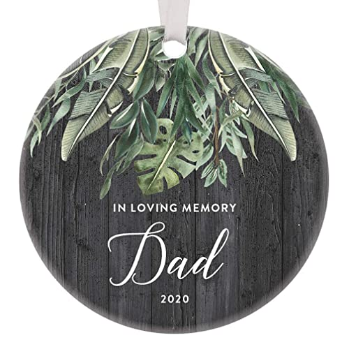 Forgotten Christmas 2020 Amazon.com: In Loving Memory of Dad 2020 Special Xmas Ornament