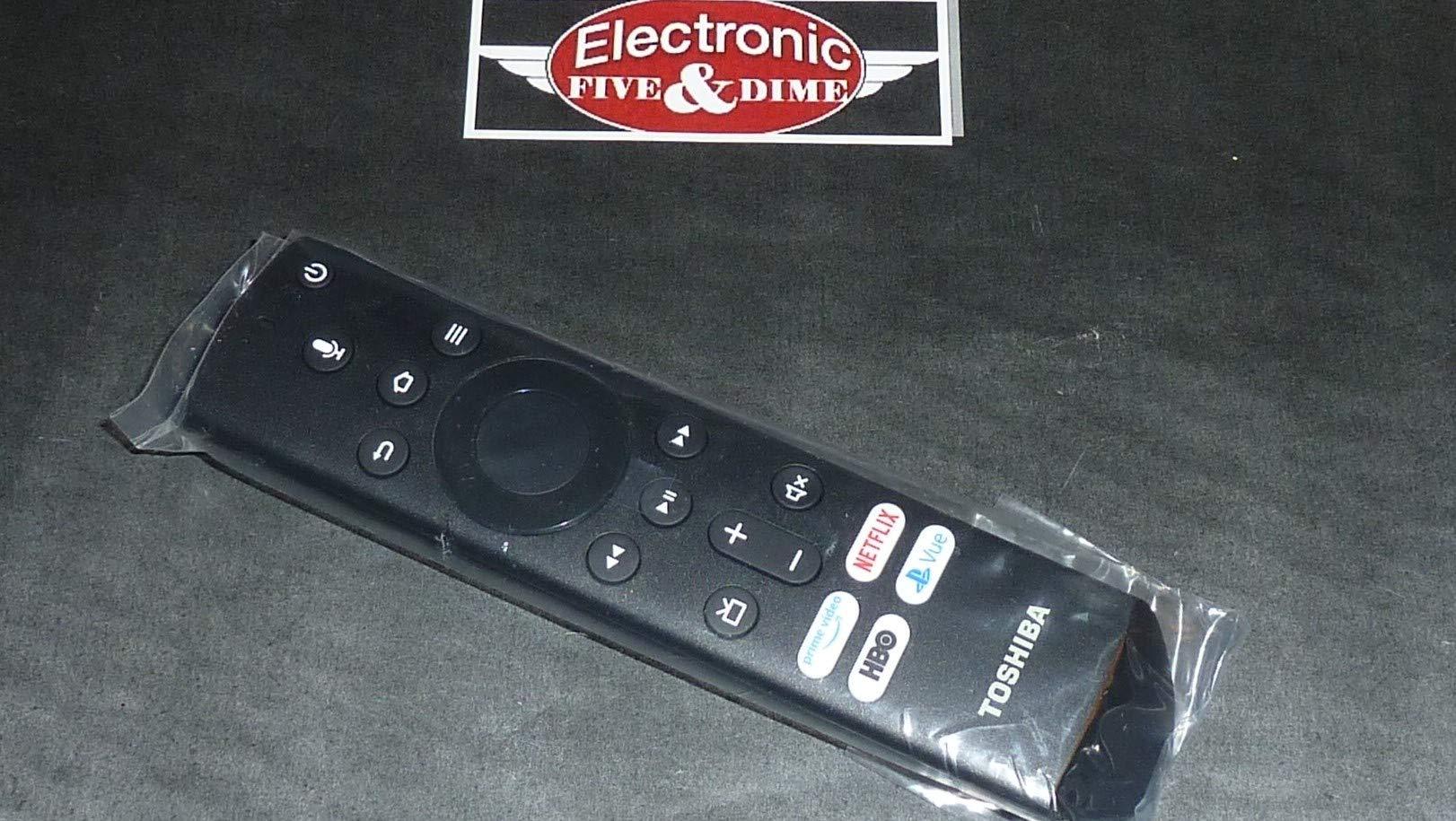 Insignia NS-RCFNA-19 RF/Smart/Voice Remote for NS-24DF310NA19 NS-32DF310NA19 NS-39DF510NA19 NS-43DF710NA19 NS-50DF710NA19 NS-55DF710NA19 50LF621U19 55LF621U19 50LED2160P 55LED2160P by ENWShop