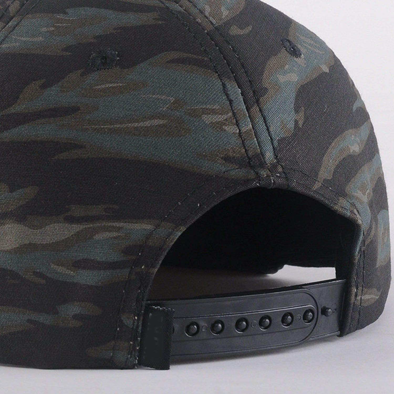 fly-consciousness Hip Hop Hats Spring Summer Men Women Baseball Cap Camouflage Bone Cotton Cap,A