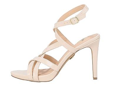new style a0d22 ca177 Buffalo EVIA Damen Riemchen-Sandale,Sandalette,Sommerschuh,Absatz