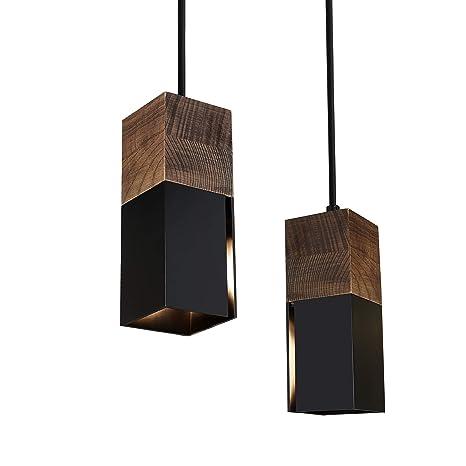 Lampenschirm 18,5cm Hängeleuchte Metall grau Beleuchtung für Küche /& Esszimmer