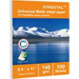 Multipurpose Double- Copy/Inkjet Paper 8.5 x 11in,White,Computer Copy Print Paper 100 Sheets,Perfectly Compatible With hp Ink