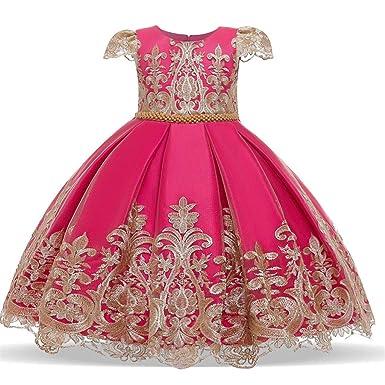 Vovotrade - Disfraz de Rapunzel para niña, de Tul Rosa Caldo 12-18 ...