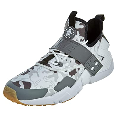 huge discount 2ee8d b1bb2 Nike Air Huarache Drift PRM, Sneakers Basses Homme, Multicolore (Black/Dark  Grey