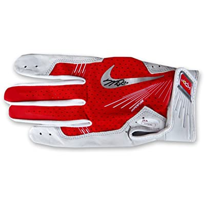 66dcece628e05 Mike Trout Signed Autographed Nike Batting Glove Los Angeles Angels ...