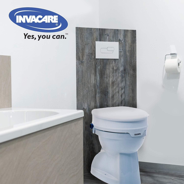 Invacare Rehausseur Toilettes Rehausseur Wc Avec Couvercle Hauteur 10 Cm Aquatec 90 Amazon Fr Hygiasne Et Soins Du Corps