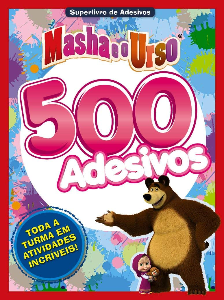Masha E O Urso Superlivro De Adesivos Em Portugues Do Brasil