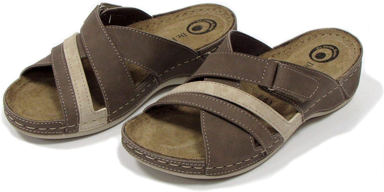 Dr Punto Rosso D239 Sandales Sabots Mules Chaussons Chaussures Femme Dames