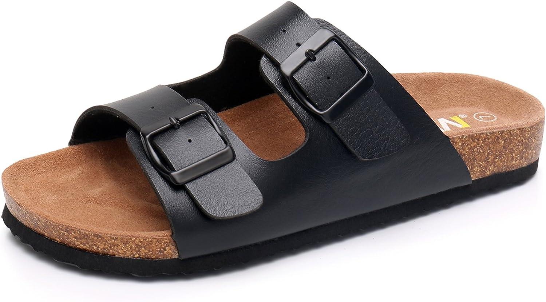 WTW Men's Slip on Flat Cork Sandals