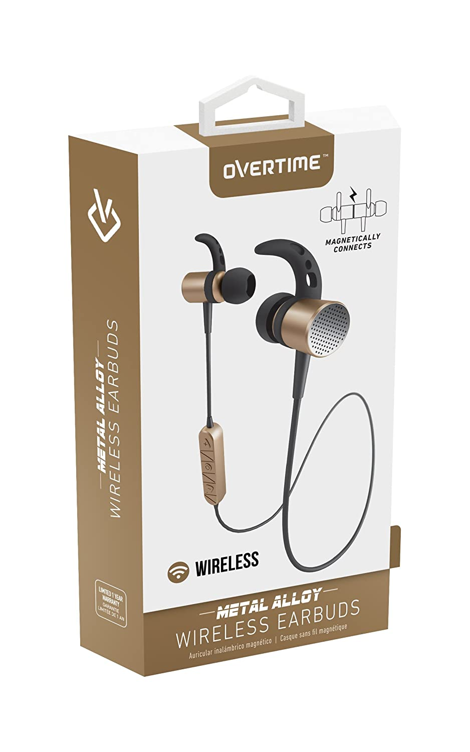 Amazon.com: Bluetooth v4.2 Earbuds with Mic – Metal Alloy Earphones for iPhone iPod Samsung Galaxy HTC S6/7/8 ZTE LG - Gold: Cell Phones & Accessories