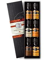 Spice Set of 6 Premium Grade Fragrance Oils - Cinnamon, Harvest Spice, Apple Cider, Coffee Cake, Gingerbread, Pumpkin Pie - 10ml