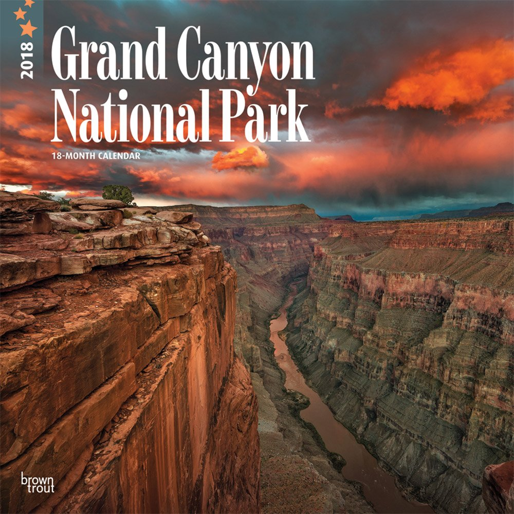 Grand Canyon National Park 2018 12 x 12 Inch Monthly Square Wall Calendar, USA United States of America Scenic Nature (English, French and Spanish Edition) ebook