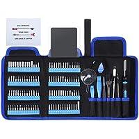 SOONAN 128en1 Destornilladores de precisión kit para teléfono Reparar teléfono celular, iPhone, iPad, MacBook, PC…