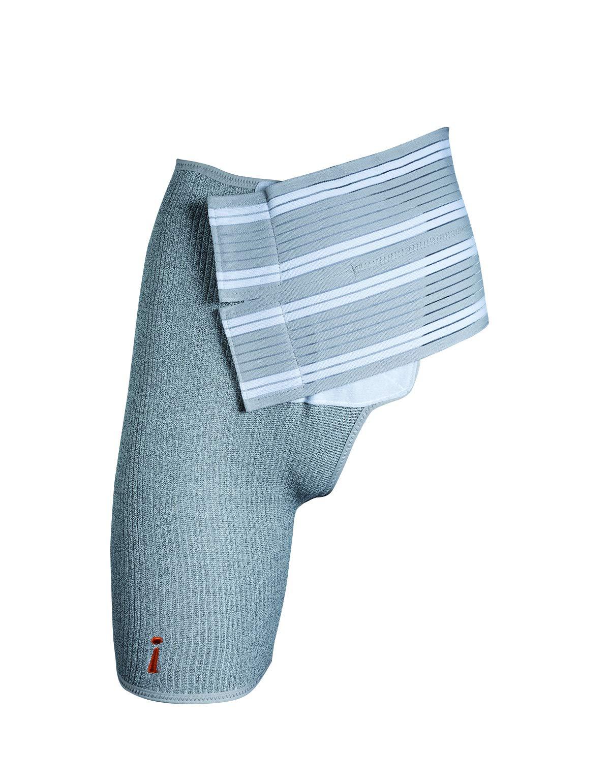 INCREDIWEAR Right Hip Brace, Grey, Small, 0.03 Pound