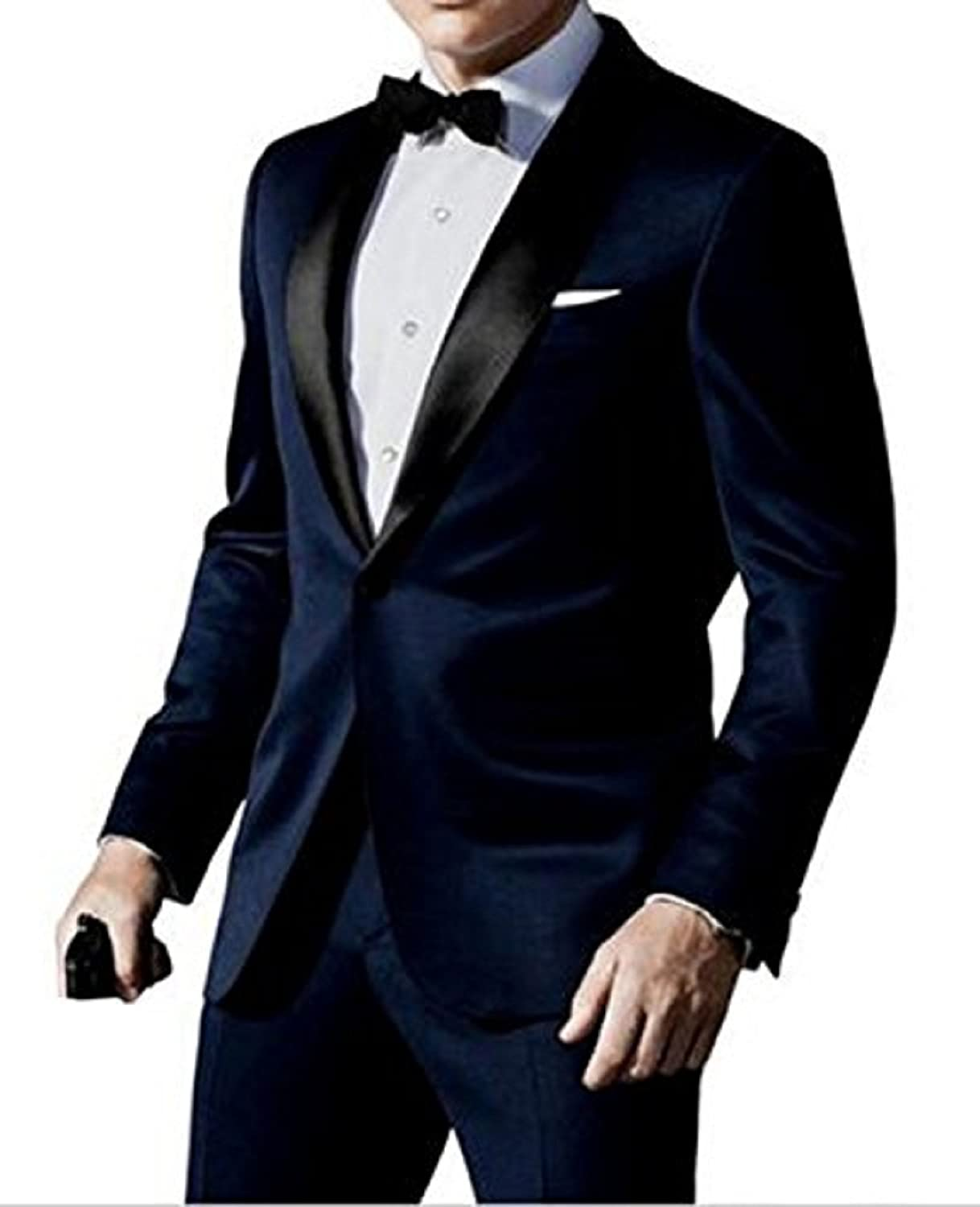 NMFashions Skyfall James Bond Midnight Blue Tuxedo Suit