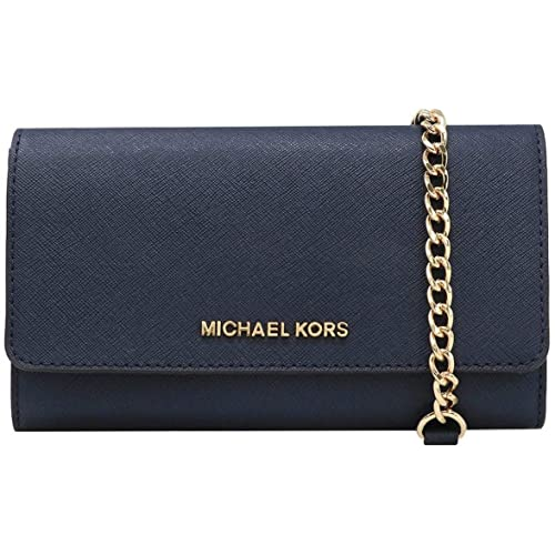MICHAEL Michael Kors Jet Set Travel Leather Crossbody Bag