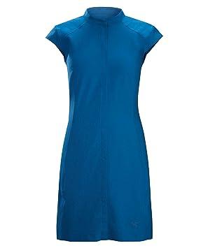 Arcteryx Damen Outdoor Kleid Cala Kurzarm: : Sport