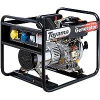 Gerador De Energia 3.8 Kva A Diesel 4T Monofásico Td4000cs Toyama