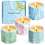 STRN Scented Candles Set, Candles for Home Scented, Aromatherapy Candles for Home, Soy Wax Candles Set 4x2.0 oz, Wonderful Gi