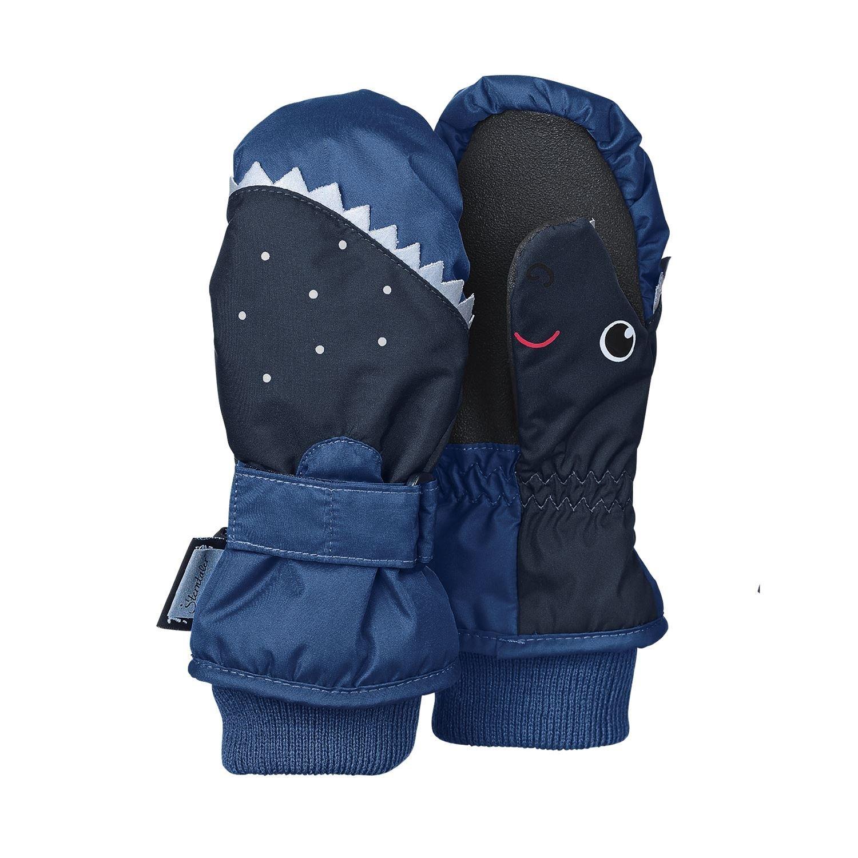 4321603b blau Sterntaler Jungen F/äustlinge Fausthandschuh Thermo-Handschuh Haifisch