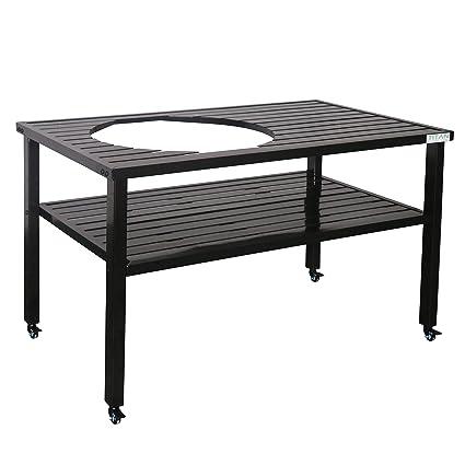 Titan Ceramic Grill Table| Aluminum | Fits XL BGE And Kamado Joe
