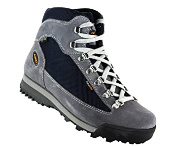 AKU W Ultra Light Galaxy GTX - Blue   Grey - EU 41.5   UK 7.5   US 9.5 -  Womens comfortable waterproof Gore-Tex® leather hiking boots  Amazon.co.uk   Sports ... 8ed0e6b8145