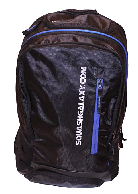 55f582a9759b Amazon.com   Python Racquetball Squash Galaxy Deluxe Backpack Squash Bag  (Ultimate Value)   Sports   Outdoors