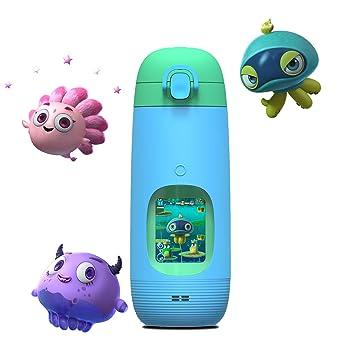 Gululu The Interactive Smart Water Bottle & Health Tracker for Kids  (Bowhead Blue)