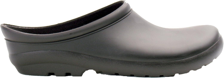 Sloggers 260BK08 Womens Premium Clog, Black, Size 8: Garden & Outdoor